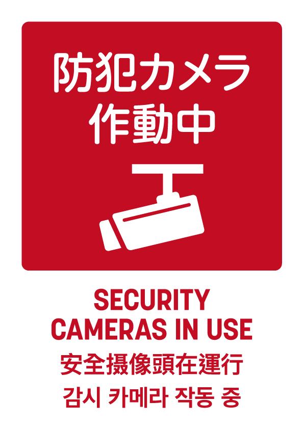 防犯カメラ作動中02