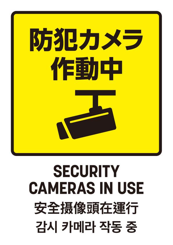 防犯カメラ作動中03